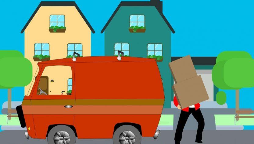 voiture de déménagement